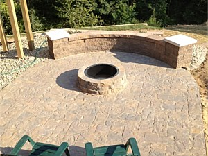 Paver Patio and Firepit
