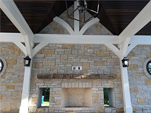 Custom Fireplace & Patio